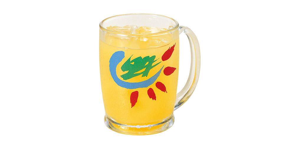 写真:カンパイドリンク オレンジジュース