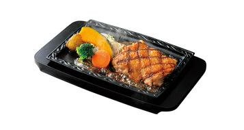 写真:炭焼き鶏ステーキ(ソースなし)
