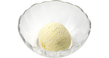 写真:プラス氷 バニラアイス