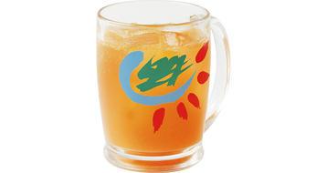 写真:季節限定 ブラッドオレンジソーダ