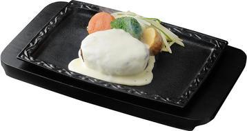写真:チーズハンバーグ(ソースなし)